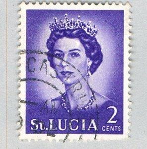 St Lucia 183 Used QEII 1964 (BP59321)