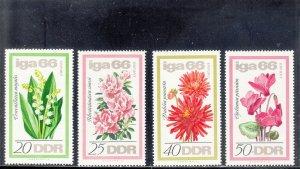 GERMANY, DR 841-844 MNH 2019 SCOTT CATALOGUE VALUE $3.80