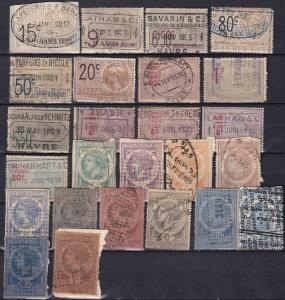 France Revenues Collection 1873-1930's  Z791