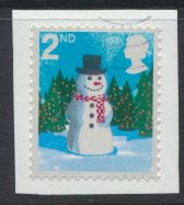 Great Britain SG 2678 SC# 2412  Used Self Adhesive Christmas 2006 see details