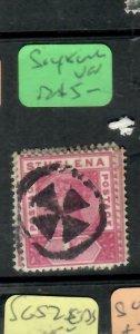 ST HELENA  (PP1305B)  QV  1 D  SG 47  CORK #1    VFU