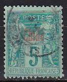 1900 France Offices in China Scott 2 Peace and Commerce used