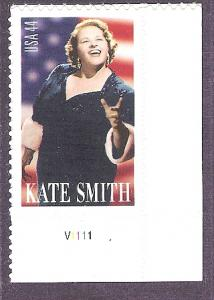 US Cat # 4463 w/Pl #, Kate Smith, MNH*-
