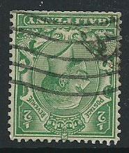 GB George V  SG 418wi  Used clipped perfs