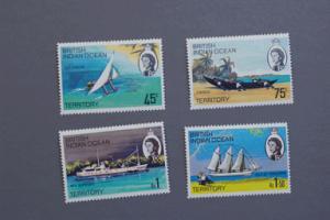 British Indian Ocean Territory #35-38 1969