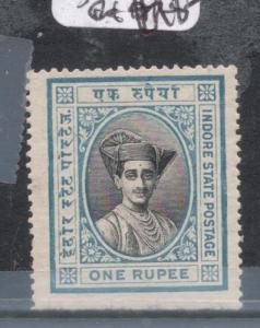 India Indore SG 30 MNH (9dkp)