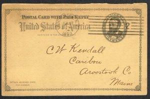 United States Reply Card Scott UY1m