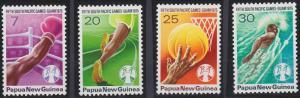 Papua New Guinea 419-422 MNH (1975)