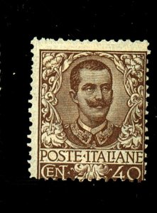 ITALY #83 MINT AVE-FINE OG LH Cat $720