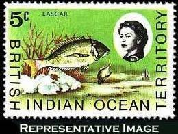 British Indian Ocean Territory Scott 16-33 Unused lightly hinged.