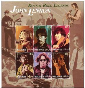 MALDIVES SHEET SINGERS MUSIC JOHN LENNON