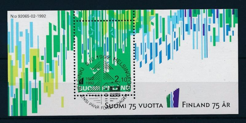 [30749] Finland  1992 75 Year Independence  Used Booklet