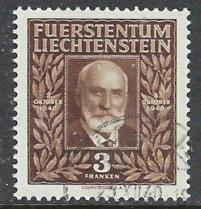 Liechtenstein 165 Used 1940 issue (ap7292)