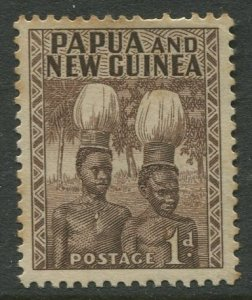 STAMP STATION PERTH Papua New Guinea #123 General Issue  Used 1952 CV$0.25