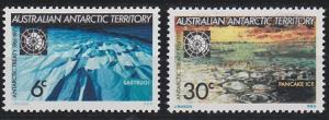 Australian Antarctic Territory L19-L20 MNH (1971)