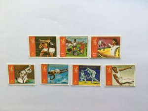 1979 EQUATORIAL GUINEA  SPORTS/SUMMER OLYMPIC GAMES MOSCOW SET OF 7 STAMPS MNH