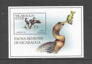 BIRDS - NICARAGUA #2069  MNH