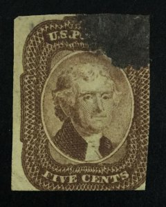MOMEN: US STAMPS #29 USED LOT #51598