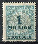 Germany; 1923: Sc. # 281: */MH Single Stamp