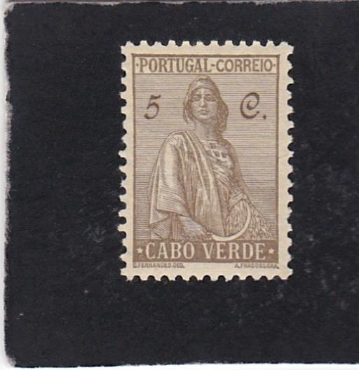 Cape Verde #216 unused
