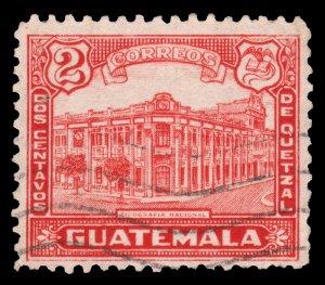 GUATEMALA STAMP 1943 SCOTT # 307. USED. # 3