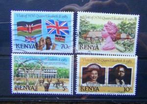 Kenya 1983 Royal Visit set Used