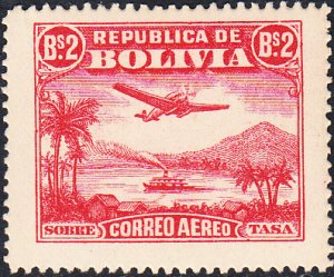Bolivia  #C33   MNH
