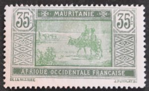 DYNAMITE Stamps: Mauritania Scott #35 – UNUSED