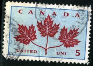 Canada - #417 - USED FOLD FAULT -1964 - Item C182