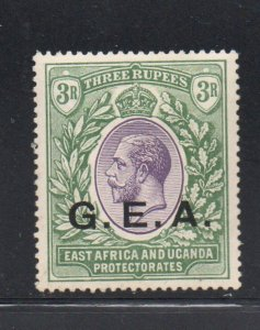 Tanganyika Sc 5 1921 GEA ovpt on 3R G V stamp mint