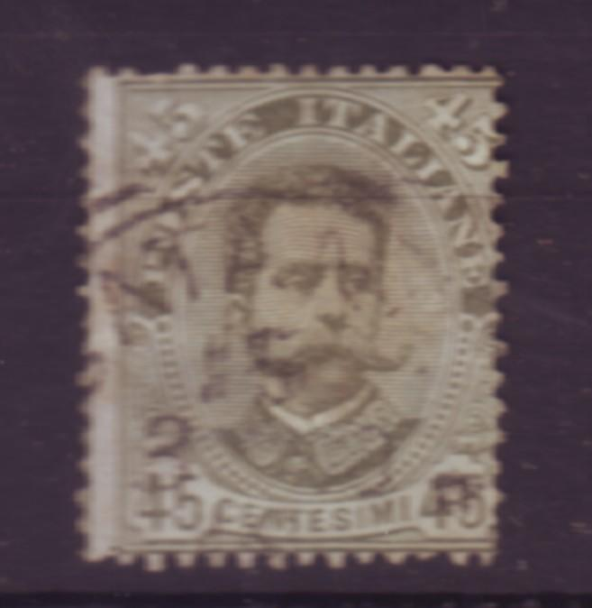 J20278 jlstamps 1891-6 italy used #71 king