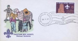 PAKISTAN - PAKISTANI BOY SCOUTS - Overseas Mailers