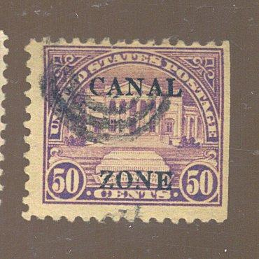 Canal Zone #94 Used FVF Cat$165