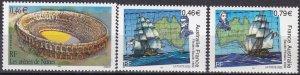 France #2880, 2882-3  MNH CV $5.05 (Z7906)