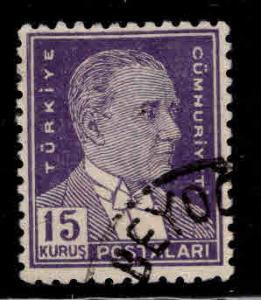TURKEY Scott 1027 Used stamp