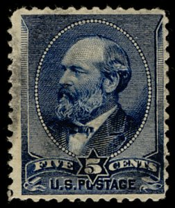 US #216 VF+ used, faintly centered, looks mint at first glance, very nice stamp!