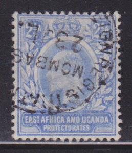 East Africa & Uganda 4 VF-used scv $ 60 ! see pic !