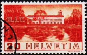 Switzerland. 1938 20c S.G.382 Fine Used