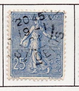 France 1903 Early Issue Fine Used 25c. 249559