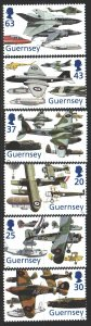 Guernsey. 1998. 773-78. Aviation, aircraft. MNH.