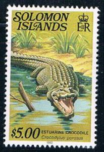 Solomon Islands 412 MNH Crocodile 1979 (S1003)
