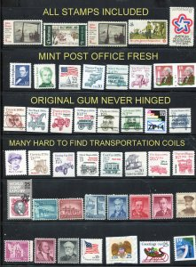 Quality Mint selection  44 stamps total