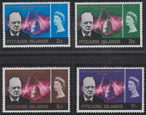 Pitcairn Islands 56-59 MNH (1966)