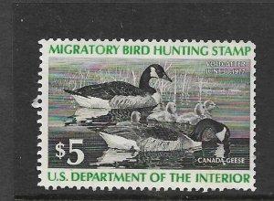 USA, RW43  MNH,  MIGRATORY BIRD HUNTING & CONSERVATION
