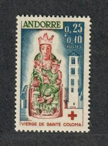 Andorra-French Sc#B1 M/VLH/VF, Cv. $24