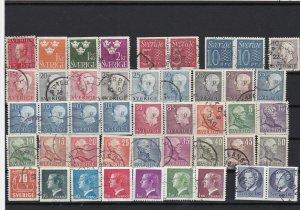 sweden stamps ref 16243