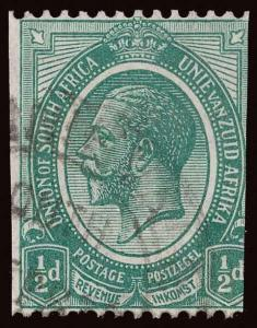 South Africa Scott 17 Variety Gibbons 18w Used Stamp