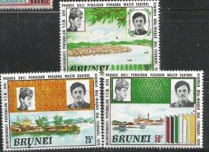 Brunei Scott #168-70*nh nh (1971)