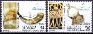 Uruguay. 2003. 2789-90. Mercosur Horseman. MNH.