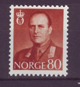 J18333 JLstamps 1958-60 norway mnh #367 king